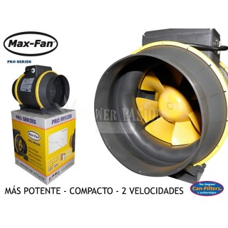 EXTRACTOR MAX FAN-2 VELOCIDADES 200MM((1218 m3/h)